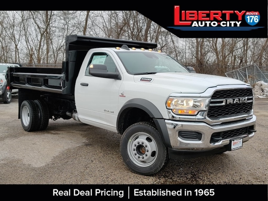 Photo New 2019 Ram 5500 RAM 5500 TRADESMAN CHASSIS REGULAR CAB 4X4 168.5 W