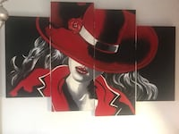 Modern wall decor painting large  Miami Gardens, 33056