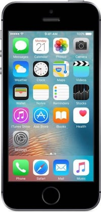 IPHONE 5 SE (BLACK) District Heights, 20747