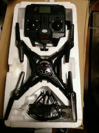 black and gray quadcopter drone in box Silver Spring, 20906