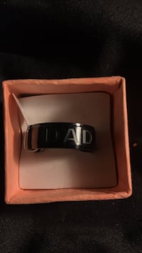 Men's size 10 dad ring says I love you dad inside 172 mi