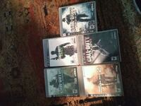 four assorted PS3 game cases Concord, 94520