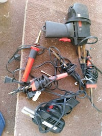 black and red corded power tool Tucson
