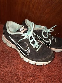 Nike Blue and Black Sneakers size 8