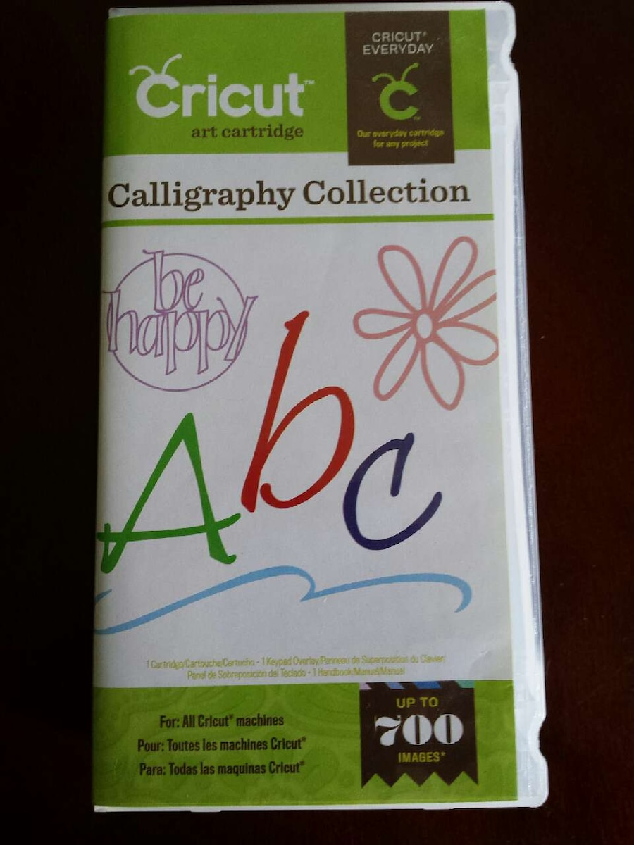 Letgo Cricut Calligraphy Collection Box In Orrville Oh