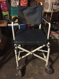 Dark blue shower chair with attachment Fort Bliss, 79916