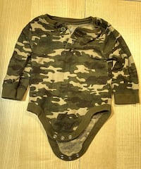 baby long sleeve onesie 6534 km