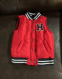 Red Tommy Hilfiger Vest
