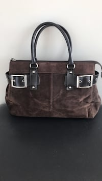 Wilson's Leather Suede purse Montreal