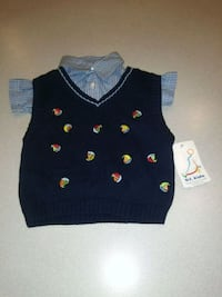 CHILDS 18 MONTH 2 PIECE TOP SET NEW WITH TAGS Naperville, 60563
