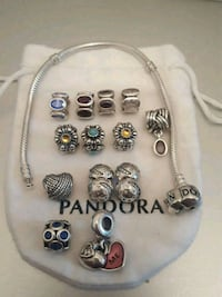 $45-$60 each Authentic Pandora Charms and Bracelet Toronto, M4W