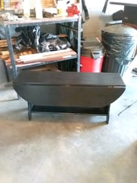 Wood bench  19 high 14 wide  42 long Hagerstown