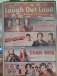 The laugh out loud 4 movie collection Merced