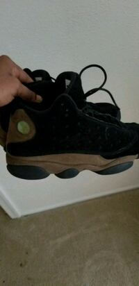 pair of black Air Jordan 13's Leesburg, 20176