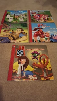 five Little Classics story books