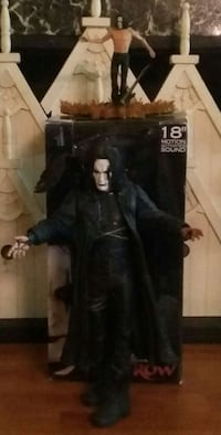 18 inch motion activated Eric Draven Crow Movie Do