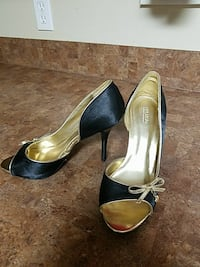Black and gold shoes Patterson, 70392