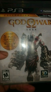 God of War Saga for PS3 Manassas, 20110