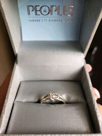 White Gold Promise Ring Mississauga