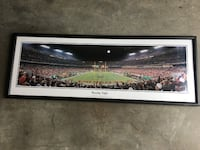 Redskins Panoramic Framed Picture Hanover