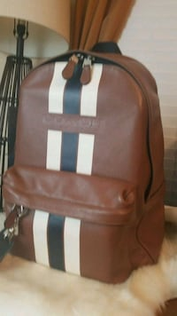 brown and white leather backpack Columbia, 29212