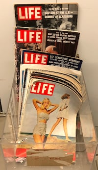 Vintage life magazine 34 lot 1950s to 1960s issues great old ads! Laurel