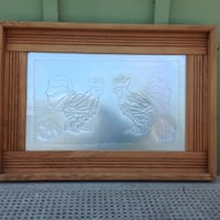 Tin roosters frame Mono, L9W