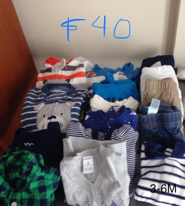 Baby boy lot (3m-6m) fall and winter. fleeced footed pajamas. Carter's 955e877c-e8f5-4853-b809-8354692f5a5c