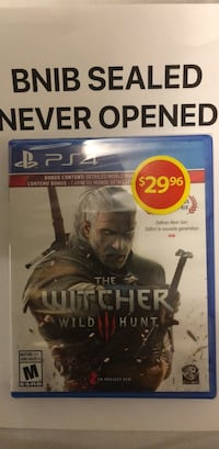 Sony ps4 the Witcher Brampton, L7A 3E2