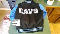 Cleveland Cavaliers adult sz small winter  jacket 1305 km