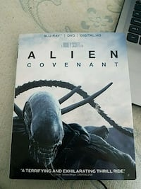 Alien: Covenant Blu-ray and DVD combo. Manchester Township