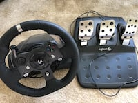 Logitech racing G920 wheel and brand new stand Knoxville, 37932