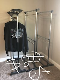 Clothes racks $20 ea Redding, 96003
