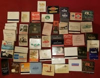 Vintage Matchbook Collection USA, Europe, Africa Pacifica, 94044