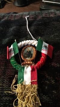 green, white, and red Mexico flag themed wreath Altha, 32421