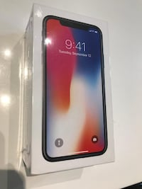 APPLE IPHONE X FACTORY UNLOCKED/APPLE IPHONE X USINE DÉVERROUILLÉE Montreal