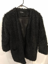 Hollywood boutique black faux fur coat Surrey, V3T 4M4