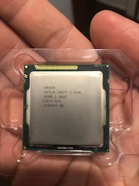 Intel CPU i5 2400 3.1 ghz.