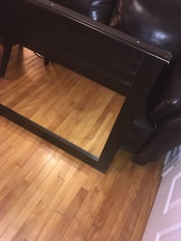 rectangular brown wooden coffee table Montreal, H4G 3C2