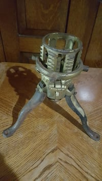 Victorian era Christmas Tree Stand. New Bedford, 02740
