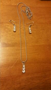 Price reduced! Necklace & Earrings Set Yuma, 85364