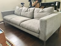 Modern 3 seater sofa couch for sale Mississauga, L5H 1T5