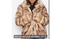 Puffy fur coat, str s Skjetten, 2013
