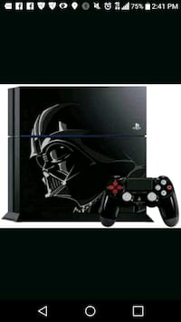 Limited edition Darth vader ps4 (used) Houston, 77016