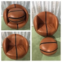 Leather Basketball chair