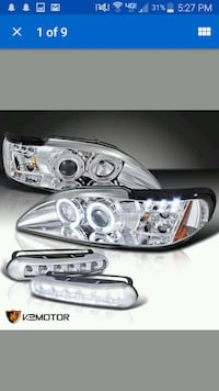Aftermarket tail lights and headlights stangs Defiance, 43512