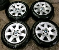 BMW rims and winter tires  Toronto, M6L 1A4