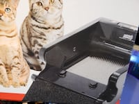 NATURES MIRACLE SELF CLEANING LITTER BOX - $40 (M