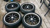 Sports rims for a car Kitchener