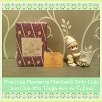 VINTAGE PRECIOUS MOMENTS MEMBERS ONLY COLLECTIBLE